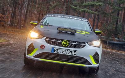 Terv szerint elindult az Opel Corsa-e Rally tesztelése